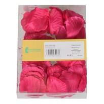 Dekoračné okvetné lístky pr. 5 cm, 100 ks, ružová