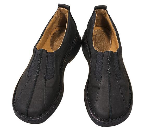 Orto Plus Dámska obuv nasúvacia veľ. 41 čierna