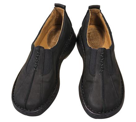 Orto Plus Dámská obuv nazouvací vel. 37 černá