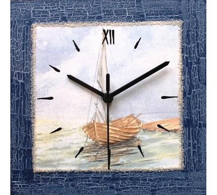 Nástěnné hodiny plachetnice