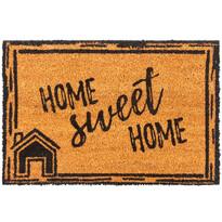 Kokosová rohožka Home Sweet Home, 40 x 60 cm