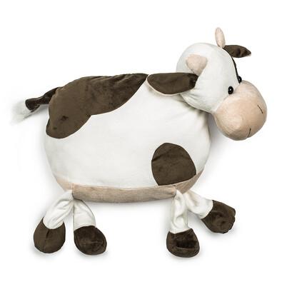 Polštářek Kráva hnědá, 47 cm