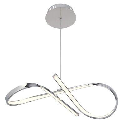 Rabalux 2188 Aniela závesné svietidlo strieborná, 45 cm