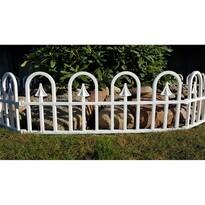 Bolt Kerti kerítés fehér, 2,3 m