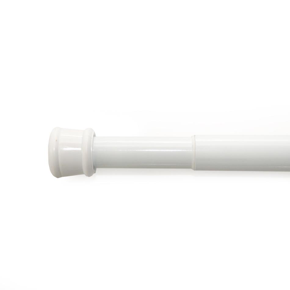 Gardinia Rozperná tyč biela,, 80 - 130 cm