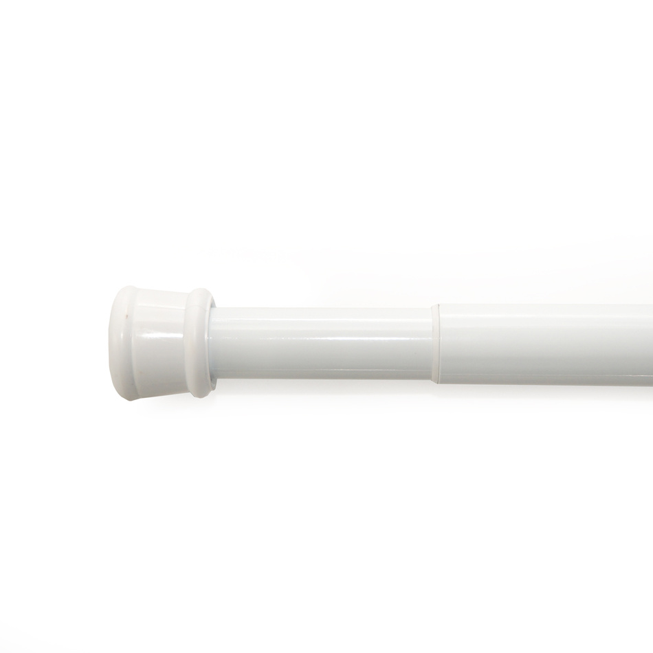 Gardinia Rozpěrná tyč bílá, 125 - 220 cm