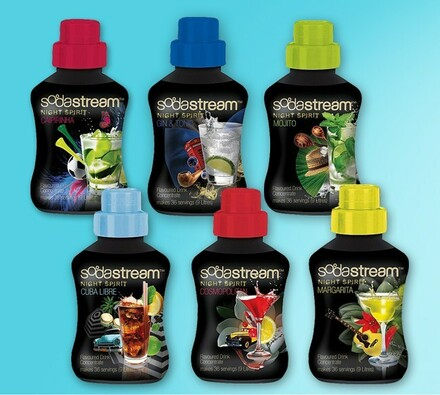 Sada 6 sirupů SodaStream Night Spirit