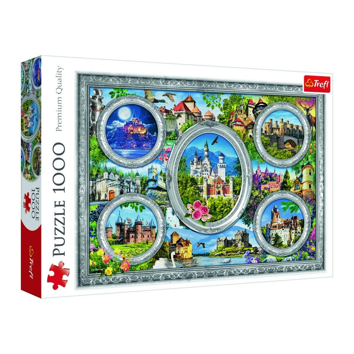 Trefl Panoramatické puzzle Světové zámky