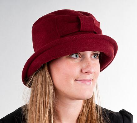 Dámský klobouk Karpet 3467, vínový, 57 / 58