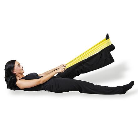 Sportwell Flexaband pás gumový, žlutá