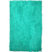 Dywanik łazienkowy Rasta Micro niebieski, 50 x 80 cm
