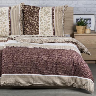 Lenjerie pat 1 pers. Horacio H2 , creponată, 140 x 200 cm, 70 x 90 cm
