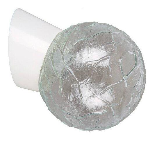 Nástenné svietidlo Rabalux Grace 2432, biela / sklo
