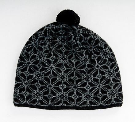 Pánská čepice Karpet 5148, černá