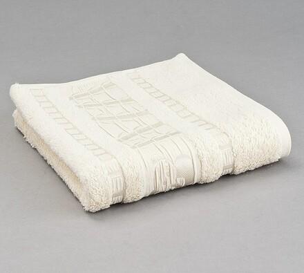 Sada 2 ks bambusových ručníků, béžová, champaigne, 50 x 90 cm