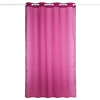 Záclona Hannah fialová, 140 x 240 cm