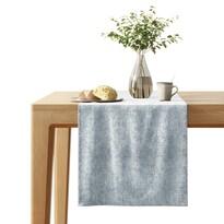 AmeliaHome Veras asztali futó, ezüst, 40 x 140 cm