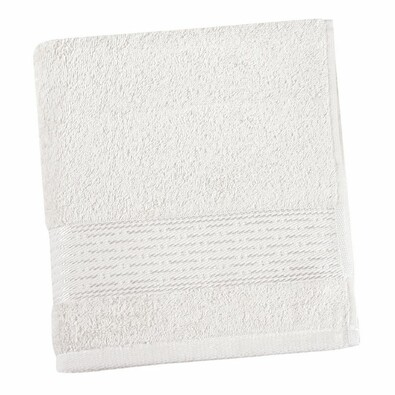 Ručník Kamilka proužek bílá, 50 x 100 cm