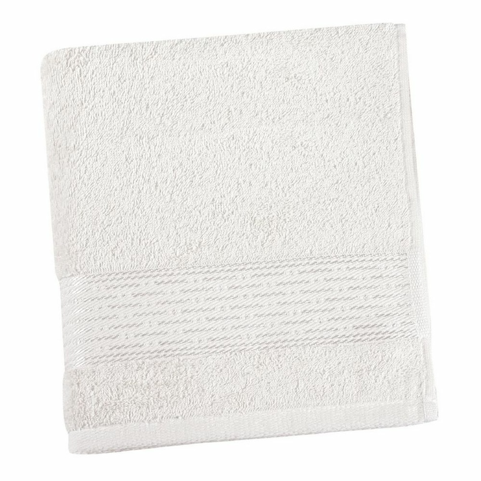 Bellatex Froté ručník Kamilka proužek bílá, 50 x 100 cm