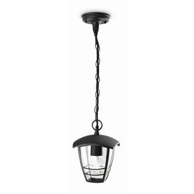 Philips 15386/30/16 Creek Vonkajšie závesné svietidlo 82 cm, čierna