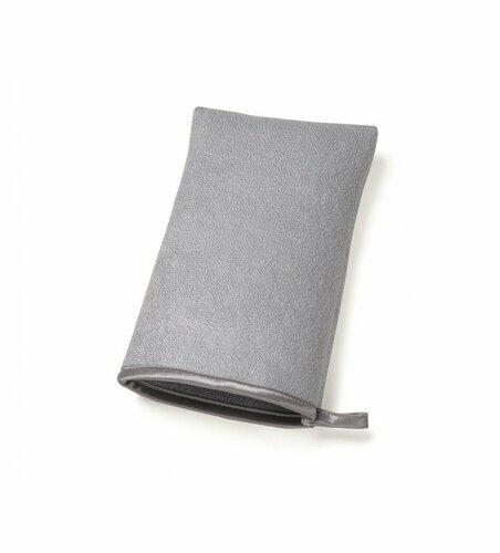 Simplehuman, Čistící rukavice z mikrovlákna na nerezové koše a spotřebiče | šedá