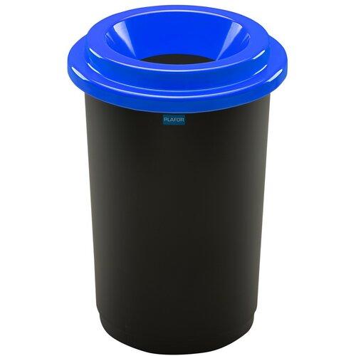 Coș de sortare deșeuri Eco Bin, 50 l, albastru
