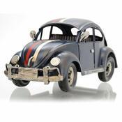Dekoračný model auta Chrobák, modrá