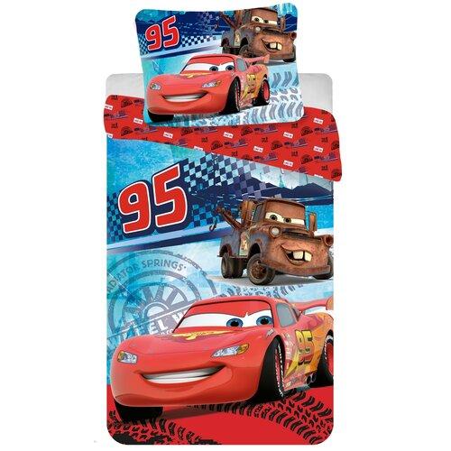 Detské bavlnené obliečky Cars speed