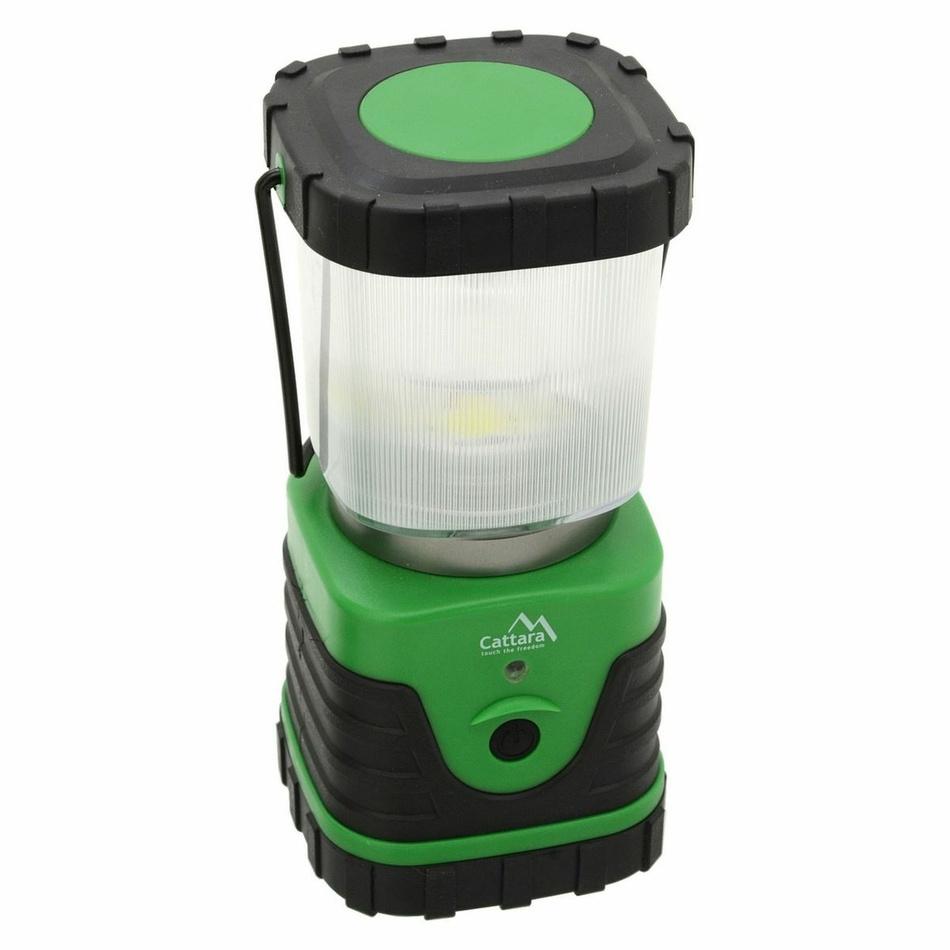Cattara Svítilna LED 300 lm Camping, zelená