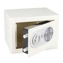 Oceľový sejf s elektronickým zámkom, biela