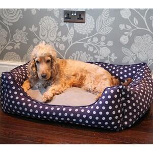 Pet Rebellion Pelíšek pro psa Dog Bed modrá, 90 cm, 90 cm