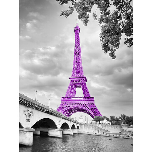 Deka My Style Paris Eiffelova věž, 130 x 170 cm