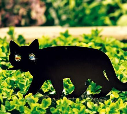Odpuzovač ptáků - kočka, Wenko, černá, 37 x 24 cm
