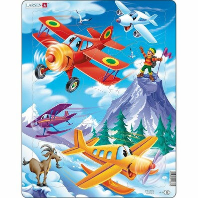 Larsen Puzzle Repülőgépek, 20 darab