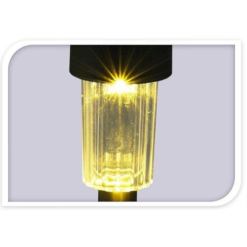 Szolár LED lámpa készlet, 12 db-os, meleg fehér
