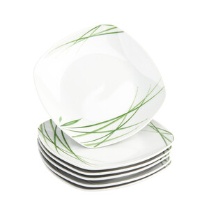 Domestic 6dílná sada dezertních talířů Delia, 19 cm