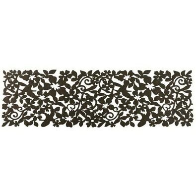 Plstěný ubrusový běhoun Ambition, 100 x 30 cm, hnědá