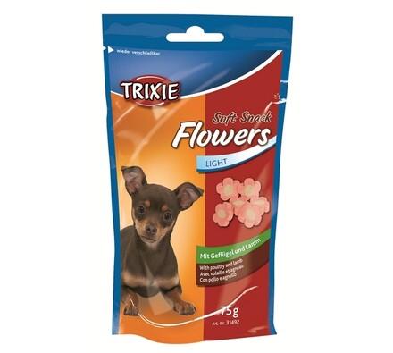 Trixie Soft Snack Flowers měkké kytičky kuřecí s j