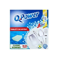 Q Power Classic economy tablety do umývačky, 60 ks