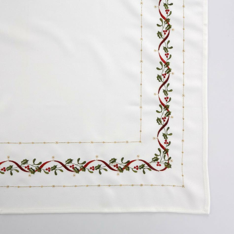 Altom Vánoční ubrus White joy, 85 x 85 cm