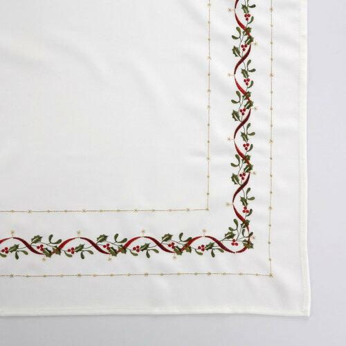 Altom White joy karácsonyi abrosz, 85 x 85 cm