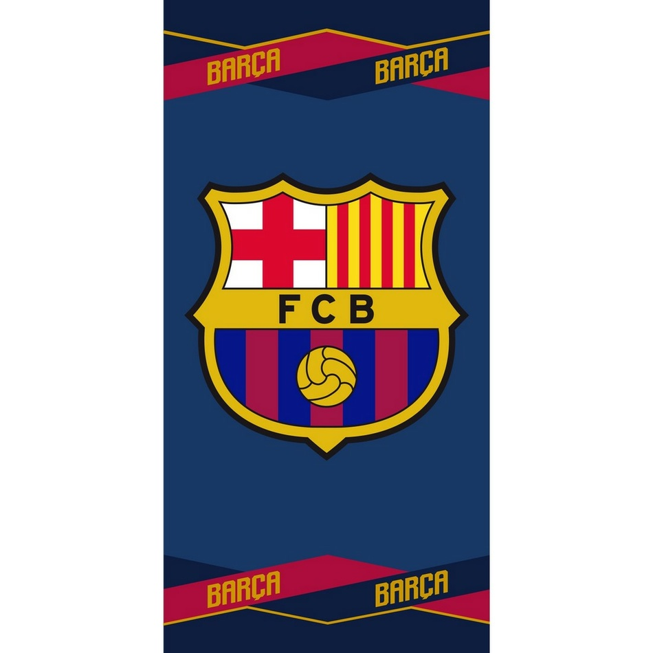 Jerry Fabrics Osuška FC Barcelona 04, 70 x 140 cm