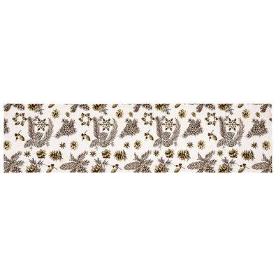 Napron de Crăciun, Conuri de brad, 33 x 130 cm