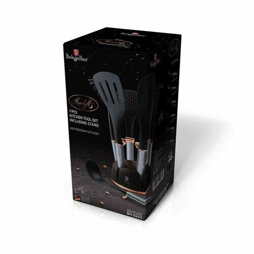 Set 10 piese instrumente bucătărie cu suportBerlinger Haus Moonlight Edition