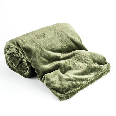 Deka Light Sleep tmavě zelená, 150 x 200 cm
