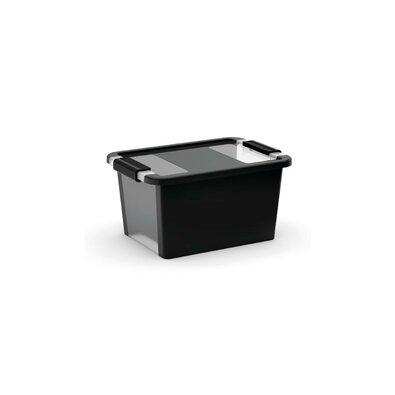 KIS Bi Box S tárolódoboz, 11 l, fekete