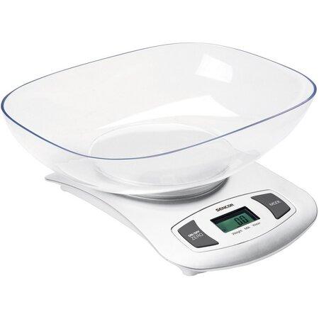 Sencor SKS 4001WH digitális konyhai mérleg