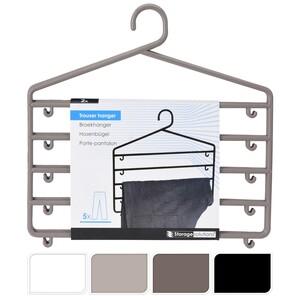 Věšák na kalhoty 37 x 37,5 cm, mix barev