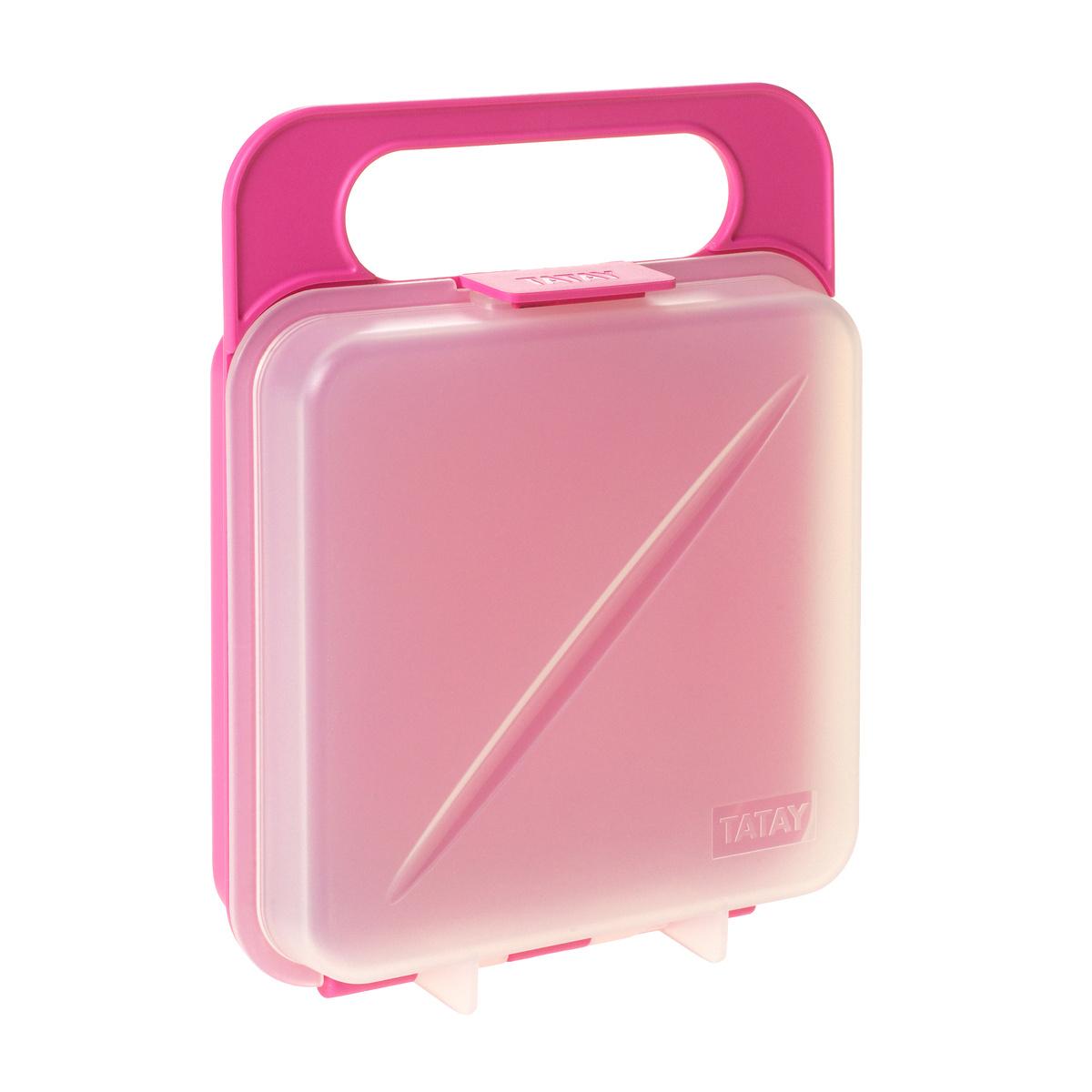 Box na desiatu, ružová,