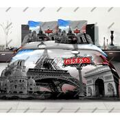 Matějovský bavlněné povlečení Paris story, 140 x 200 cm, 70 x 90 cm